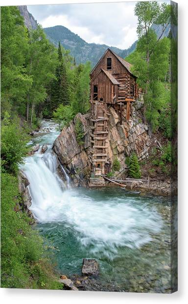 Crystal Mill Colorado Canvas Print