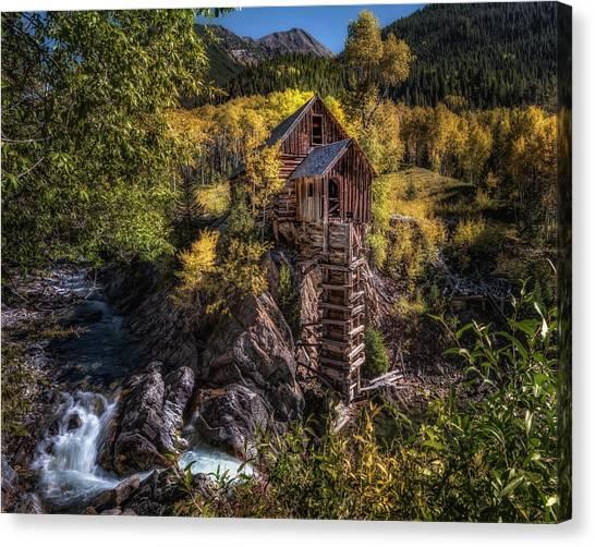 Crystal Mill Colorado Canvas Print