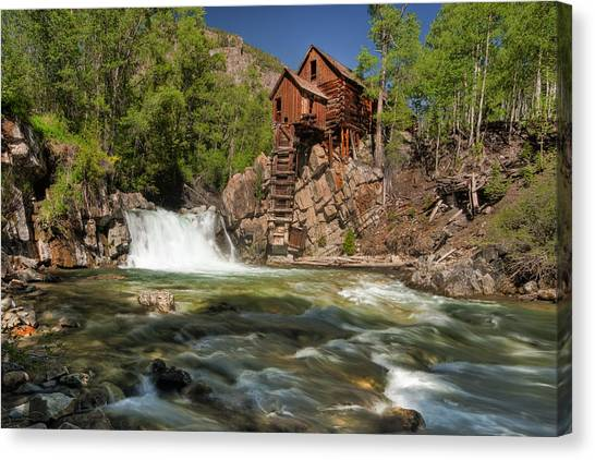 Crystal Mill II Canvas Print