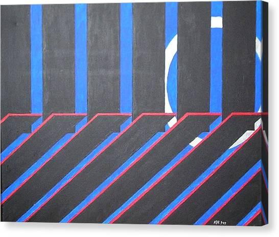 Crystal Passage Canvas Print by Kenneth Regan