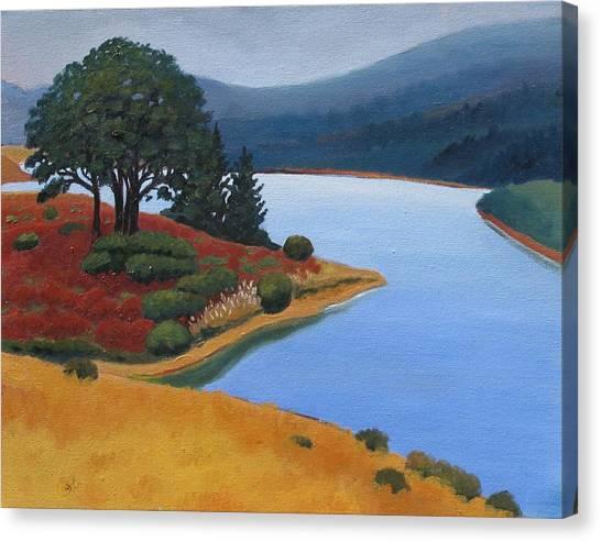 Crystal Springs Canvas Print