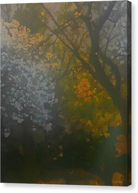Crystal Tree Canvas Print