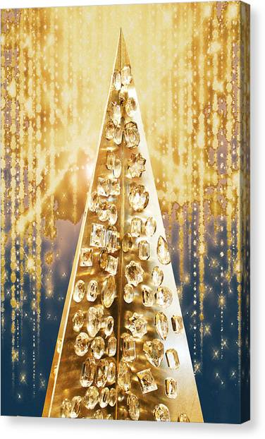 Crystal Tree Canvas Print