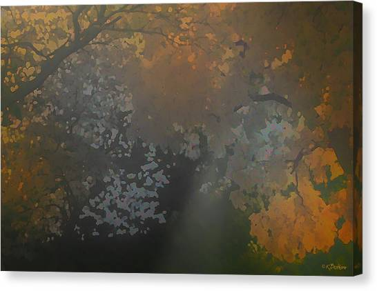 Crystal Tree Top Canvas Print