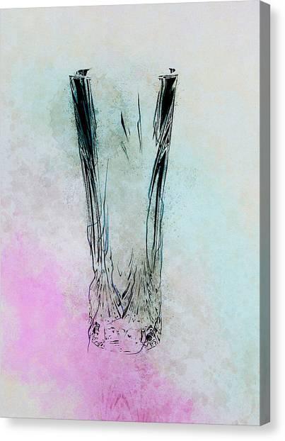 Crystal Vase Canvas Print