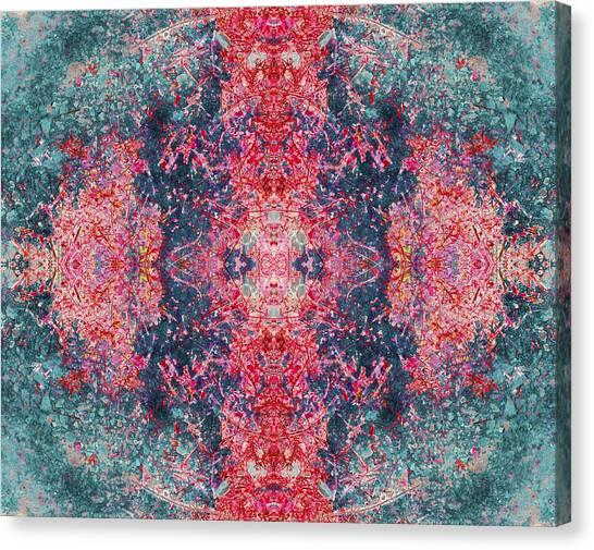 Crystalline Being Canvas Print