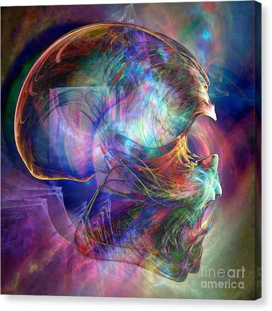 Crystalline Body Canvas Print