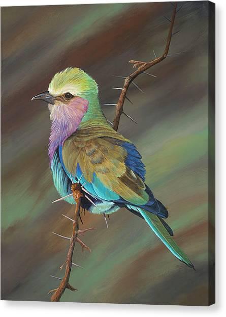 Crystal's Bird Canvas Print