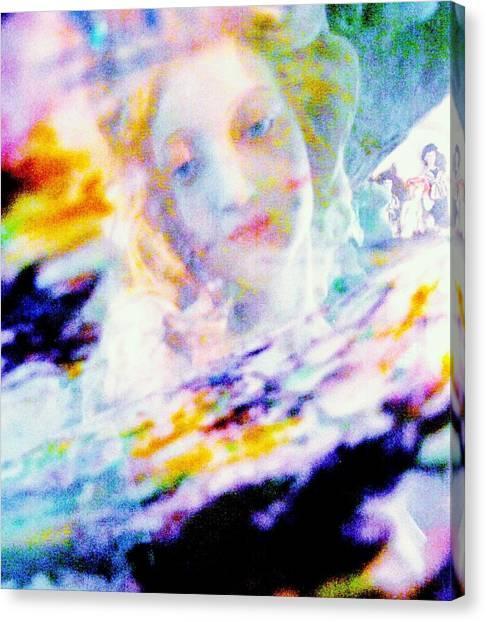Crytsal Canvas Print by HollyWood Creation By linda zanini