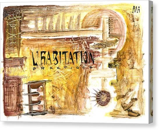 Cuarto Menguante Canvas Print by Armando Ruiz