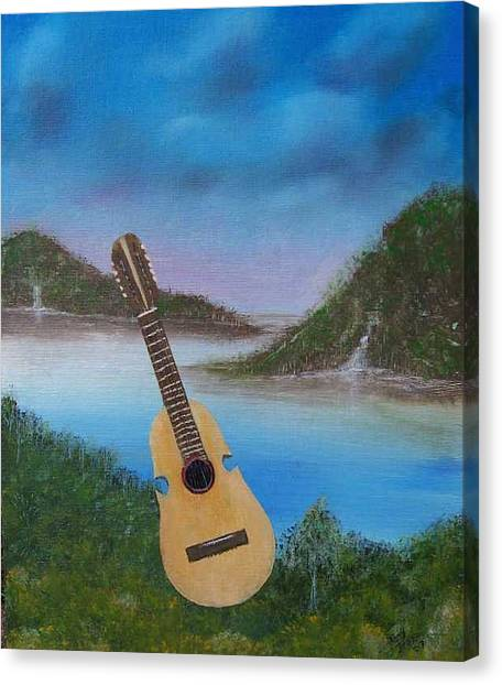 Cuatro Canvas Print by Tony Rodriguez