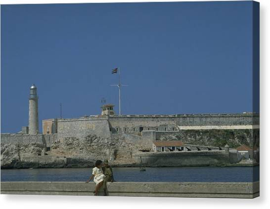 Travelpics Canvas Print - Cuba In The Time Of Castro by Travel Pics
