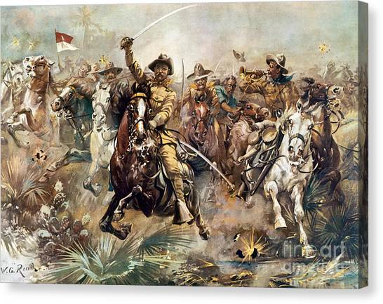 Cuba: Rough Riders, 1898 Canvas Print