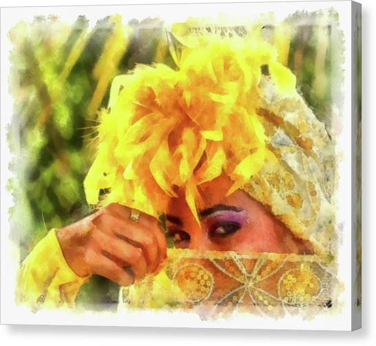 Cuban Eyes Canvas Print