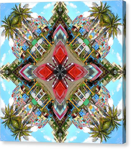 Cuban Kaleidoscope Canvas Print