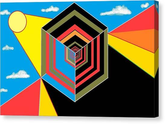 Cube Canvas Print