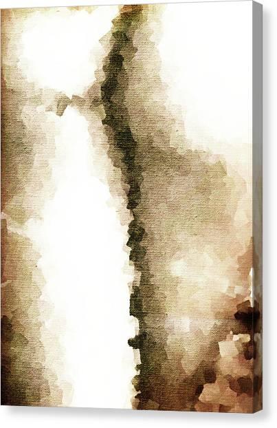 Cubist Back Canvas Print