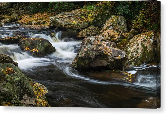 Cullasaja River Canvas Print