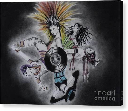 Cultural Affair Canvas Print