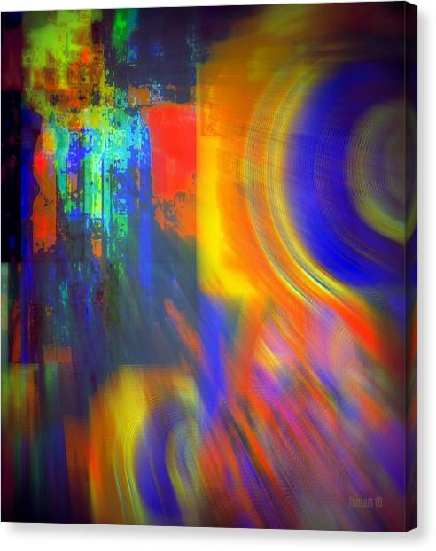 Cultural Exchange And Movement Canvas Print by Fania Simon