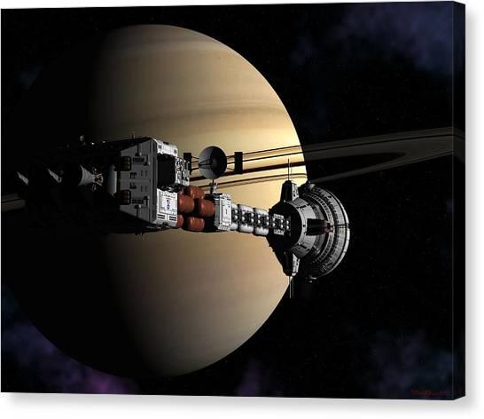 Cumberland At Saturn Part 2 Canvas Print