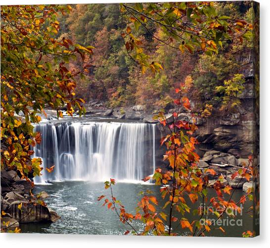 Cumberland Falls Two Canvas Print