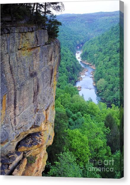 Big South Canvas Print - Cumberland River by Willard Clay