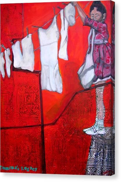 Cumina's Legacy Canvas Print
