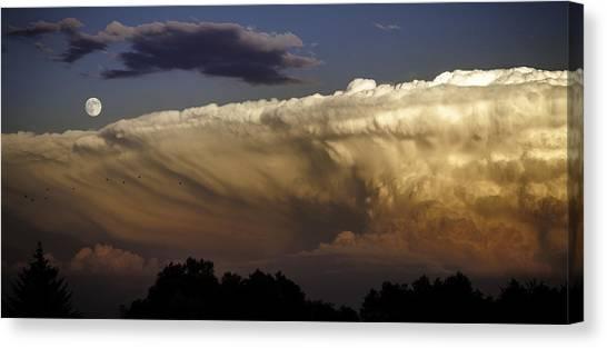 Cumulonimbus At Sunset Canvas Print