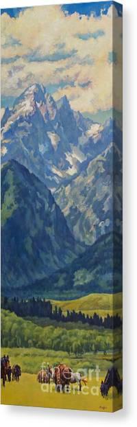 Cunningham Clan Canvas Print