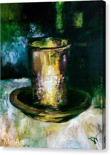 Cup Of Blessing Canvas Print