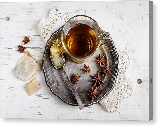 Cup Of Tea Canvas Print by Jelena Jovanovic