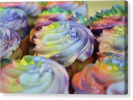 Cupcake Chaos Canvas Print by JAMART Photography