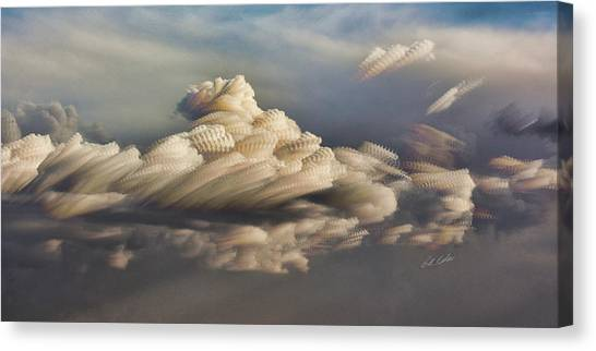 Cupcake In The Cloud Canvas Print