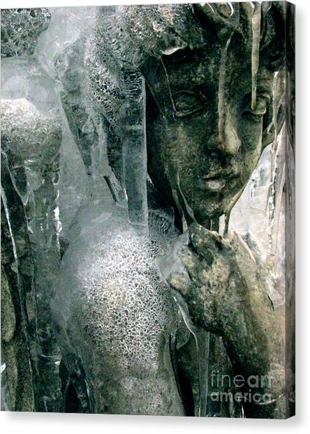 Cupid's Psyche Awaiting Zephyrus Canvas Print
