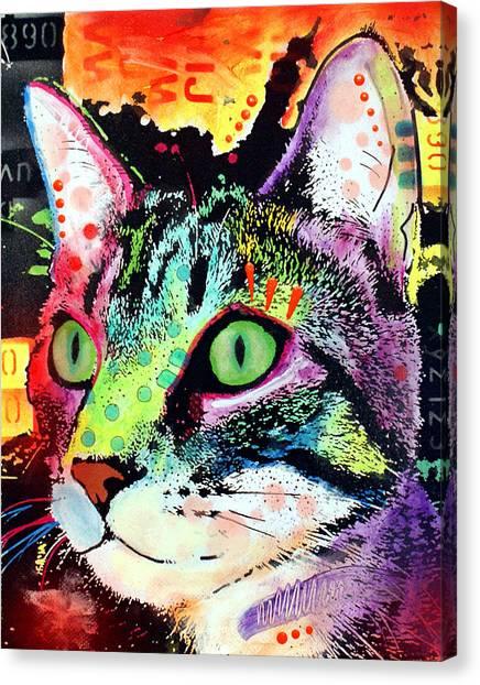 Curiosity Cat Canvas Print