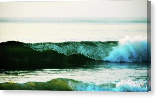 Curling Surf Canvas Print by JAMART Photography