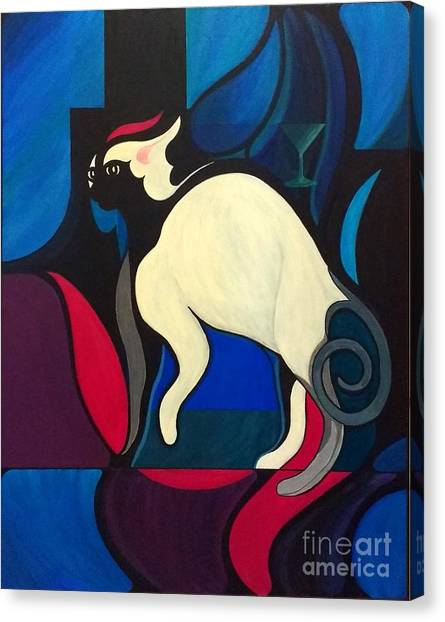 Pyewacket Canvas Print
