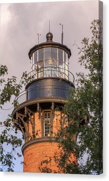 Currituck Beach Lighthouse Close-up Canvas Print