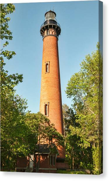 Currituck Beach Lighthouse Canvas Print