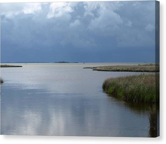 Currituck Sound - 1 Canvas Print