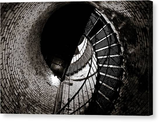 Currituck Spiral II Canvas Print