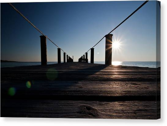 Currituck Sunset Canvas Print