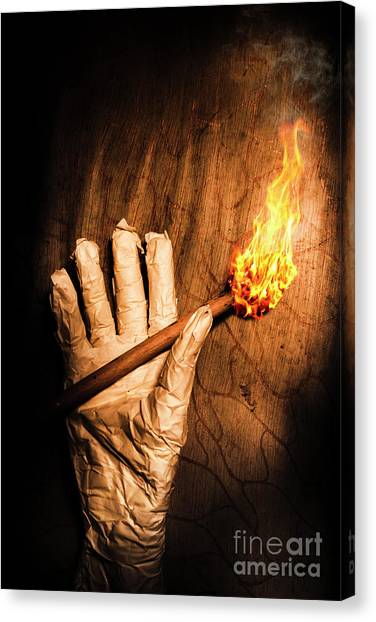 Egyptian Canvas Print - Curse Of The Tomb Robber by Jorgo Photography - Wall Art Gallery