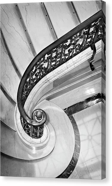 Curves And Light Canvas Print