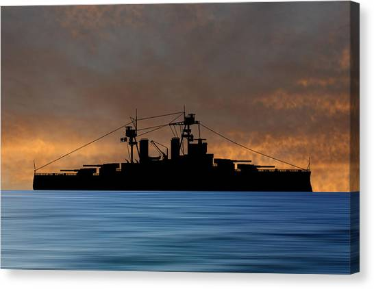 Battleship Canvas Print - Cus Alberta 1913 V3 by Smart Aviation