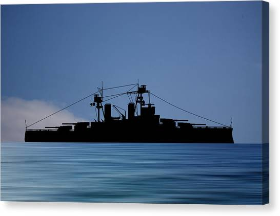 Battleship Canvas Print - Cus Alberta 1913 V4 by Smart Aviation