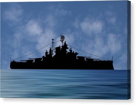 Battleship Canvas Print - Cus Alberta 1937 V1 by Smart Aviation