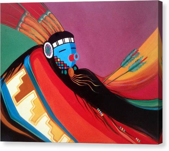 Custom Kachina Canvas Print