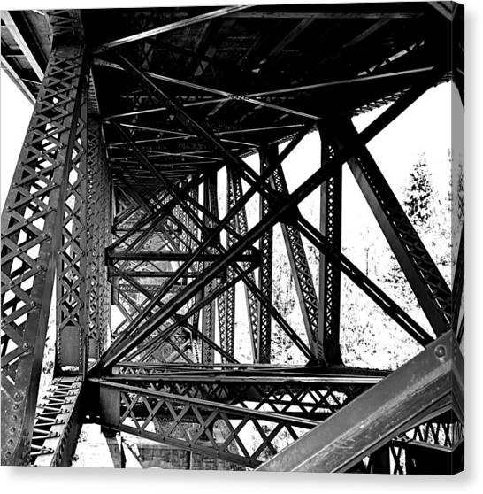 Cut River Bridge Canvas Print
